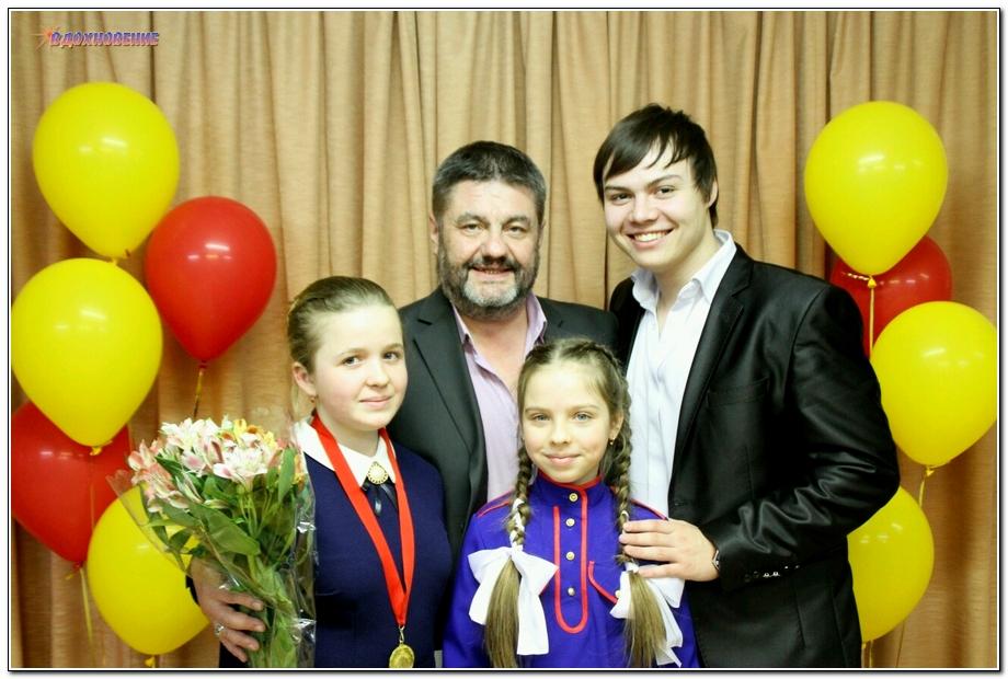 Игорь Помазкин и его ученики