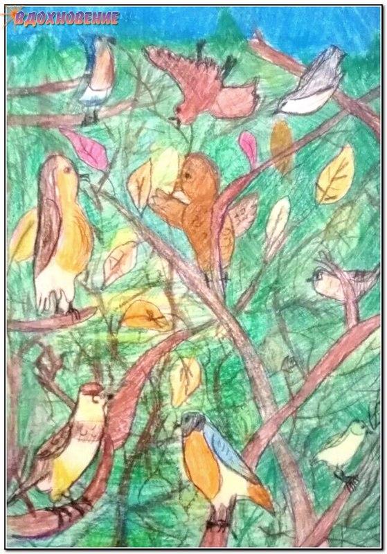 Скрипка Антонина. Песни леса