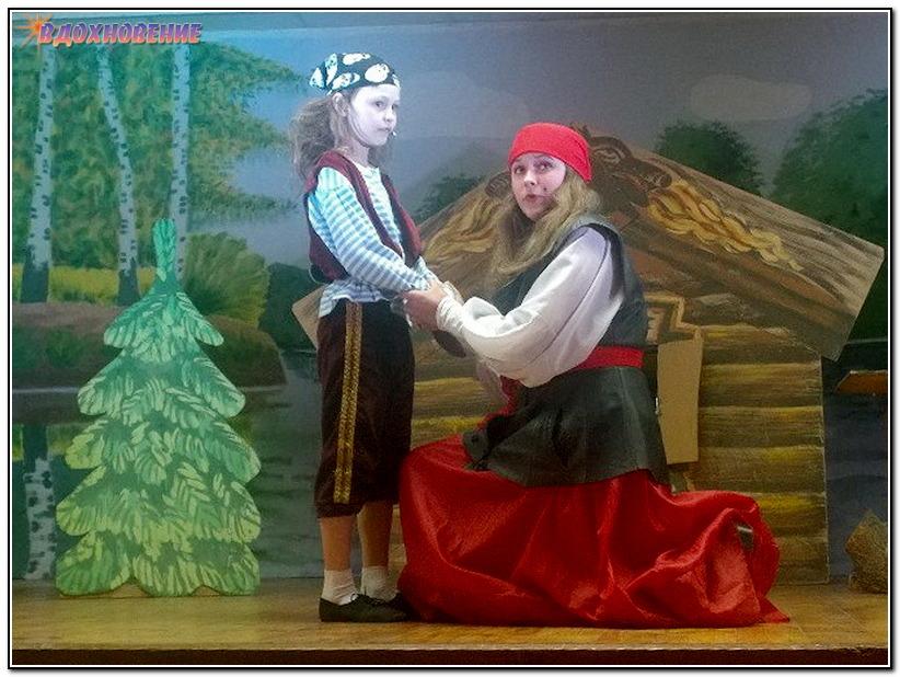 Маленькая Разбойница и ее мама - Злата Рябоштан и София Гонтарь